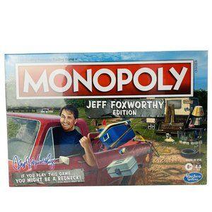 Monopoly Jeff Foxworthy Edition Board Game Featuri